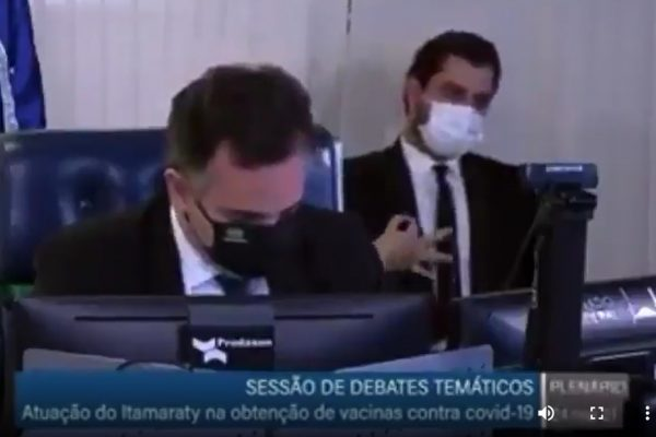 Filipe Martins no Senado
