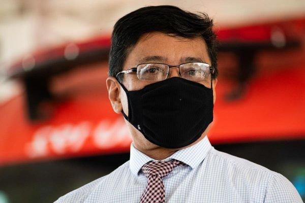 Secretário de Saúde, Osnei Okumoto