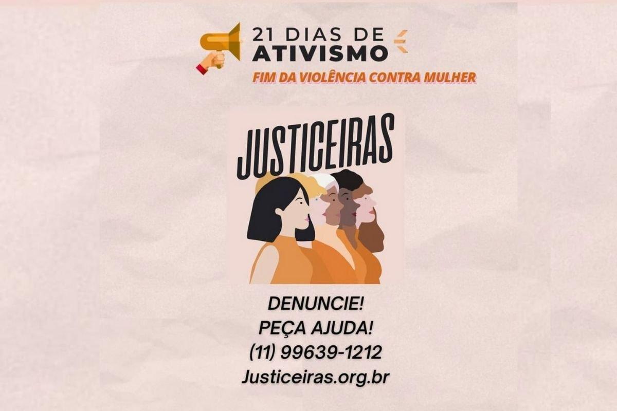 Como pedir ajuda - Justiceiras