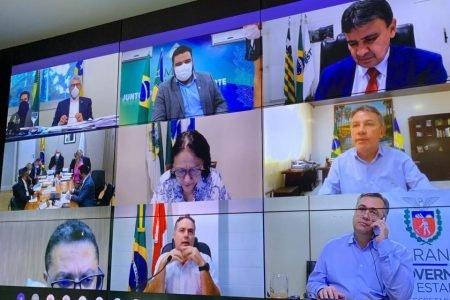 Marcelo Queiroga se reúne com governadores