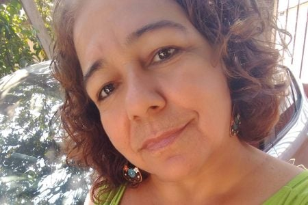 lúcia Oliveira de sá, de 37 anos, assassinada pelo irmão a facadas em aparecida de goiânia, goiás
