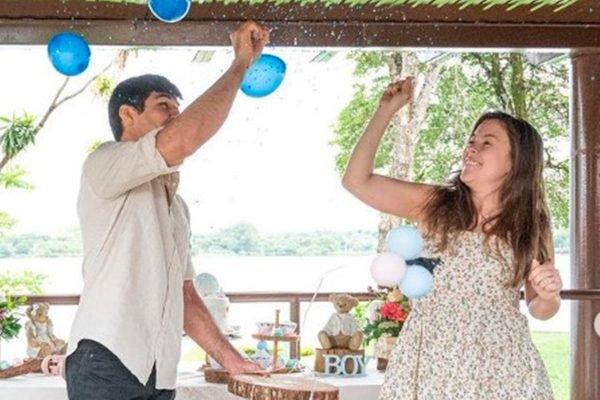 Vicente Luque e a esposa Carol