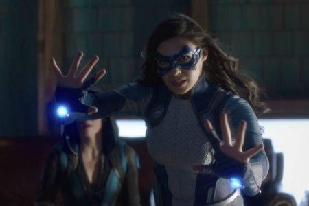 Cena da 6ª e última temporada de Supergirl