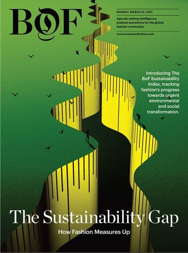 Capa da edição inaugural do BoF Sustainability Index
