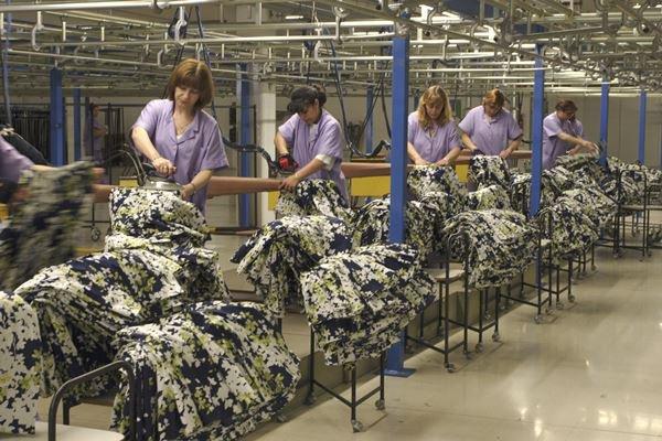 Funcionárias de fábrica da Zara
