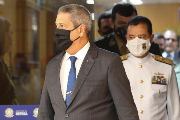 Novo ministro da Defesa, general Walter Souza Braga Netto