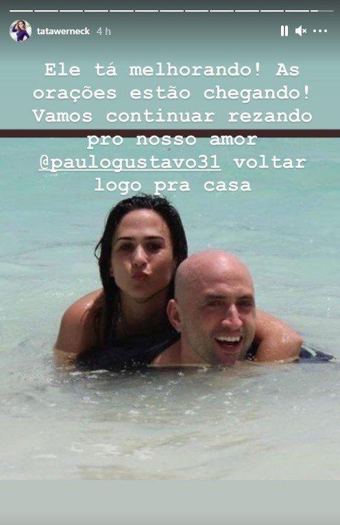 Paulo Gustavo e Tata Werneck