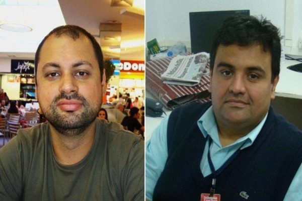 Jornalistas Ozias Alves Junior e Savas Apostolo