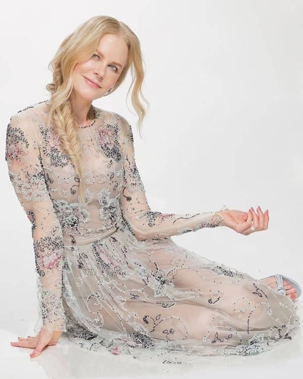 Nicole Kidman, de Armani, para o SAG Awards 2021