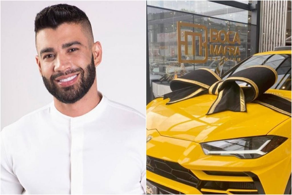 Gusttavo Lima e Lamborghini Urus