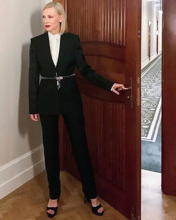 Cate Blanchett, de Givenchy para o SAG Awards 2021