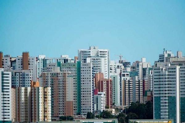 prédios em Águas Claras