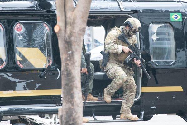 Treinamento da Polícia Federal