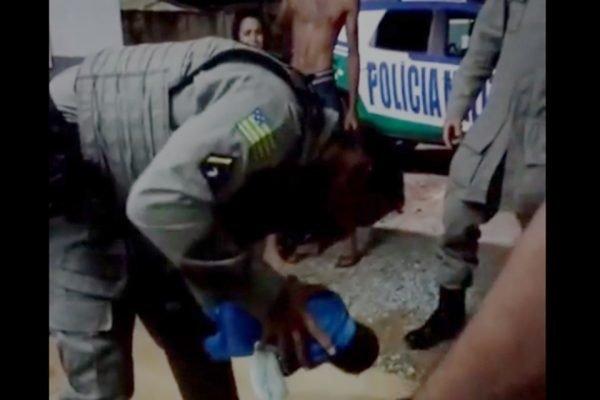 PM salva criança engasgada com leite materno em águas lindas de goiás