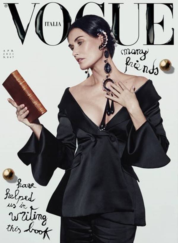 Capa da Vogue Itália de abril de 2021
