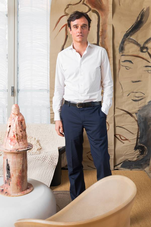 Emanuele Farneti, editor-chefe da Vogue Italia