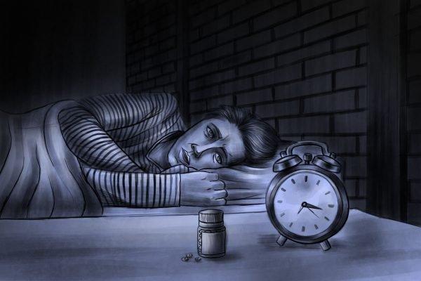 capa Ilustração - o efeito da pandemia no consumo de remédios para dormir