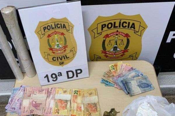 Drogas apreendidas pela PCDF