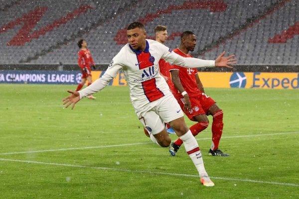 Mbappé brilha e PSG bate o Bayern