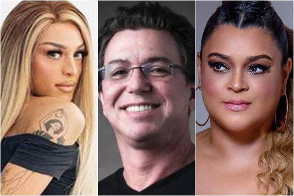 Pabllo Vittar, Boninho e Preta Gil