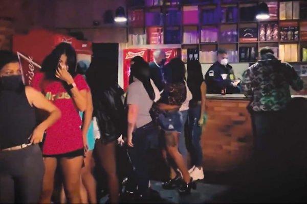 festa clandestina com 40 pessoas em sao paulo SP