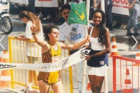 Roseli Machado vence prova da Corrida de São Silvestre, em 1996