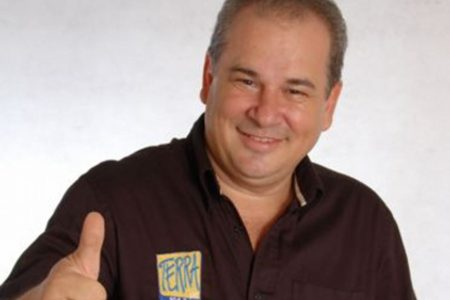 Nilson Ribeiro, locutor da famosa rádio Terra FM
