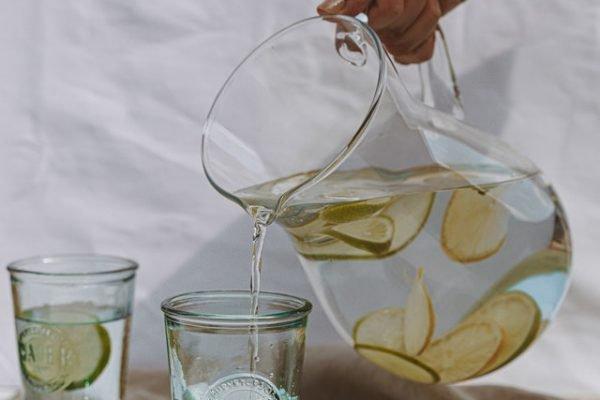jarra água limão