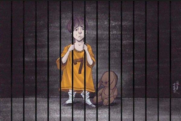 criança encarcerada