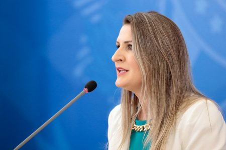 Camile Giaretta Sachetti, ex-diretora de Ciência e Tecnologia da Secretaria de Ciência, Tecnologia, Inovação e Insumos Estratégicos