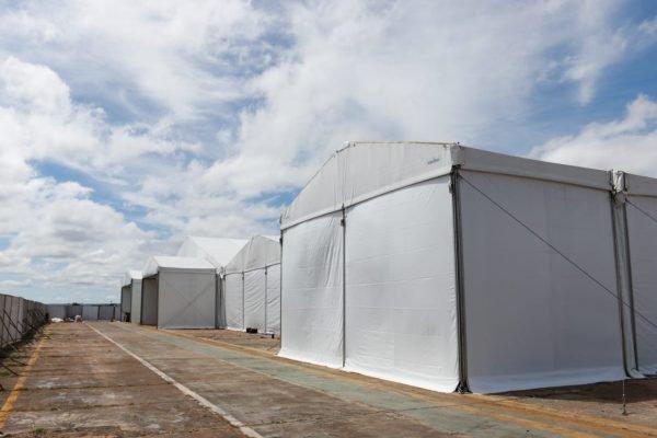 Hospital de campanha do Autódromo