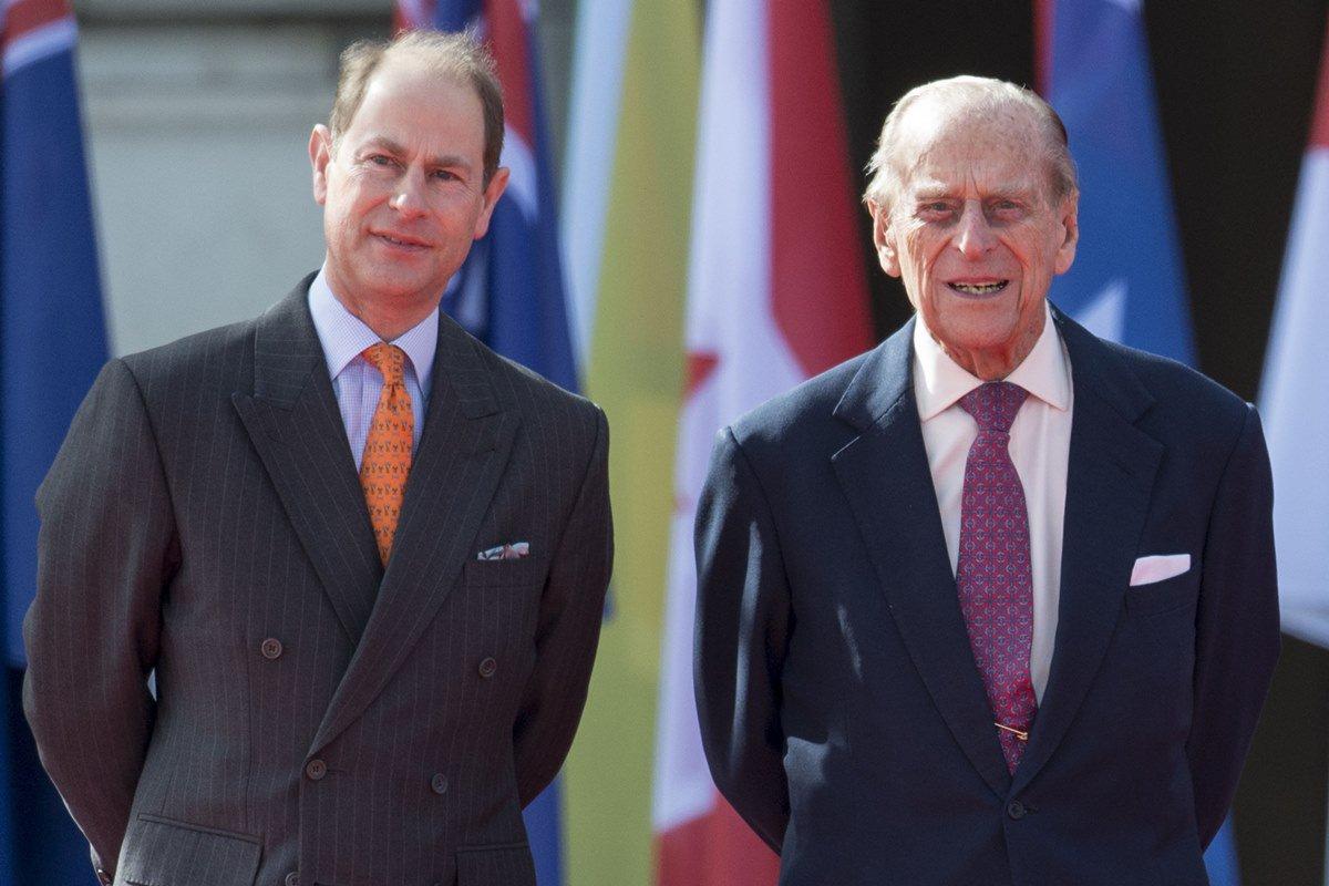 Príncipes Edward e Philip
