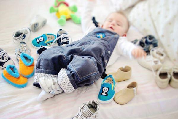 Tênis infantis para bebês