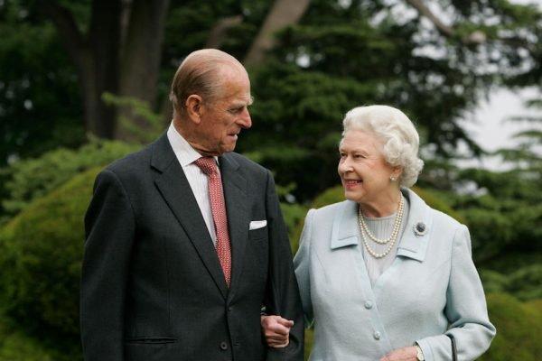principe Philip e rainha elizabeth