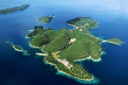 Ilha Skorpios grecia