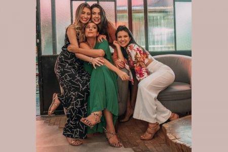 Nathalia Patrão, Juliana Andrade, Mariana Corgosinho e Bruna Garcia