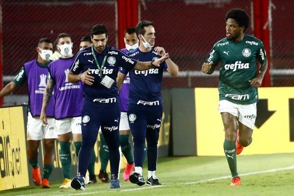 Abel Ferreira e Luiz Adriano