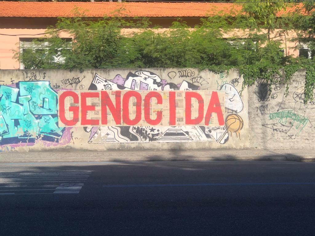 Protesto contra Bolsonaro gera polêmica na UFRJ