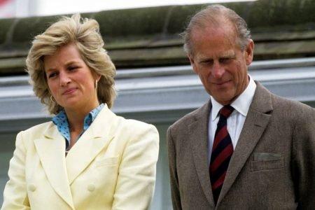 Princesa Diana e Príncipe Philip