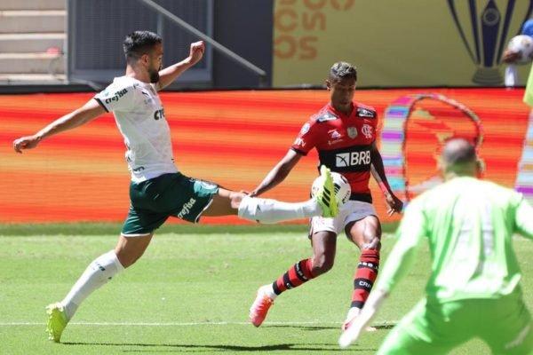 Flamengo x Palmeiras na Supercopa do Brasil