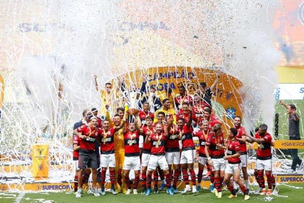 Flamengo campeão da Supercopa do Brasil