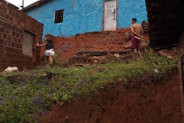 Deslizamento de terra em Pernambuco