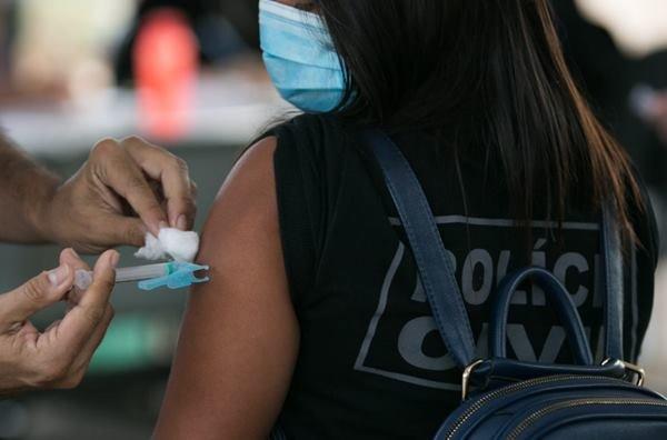 vacinação de servidores da PCDF
