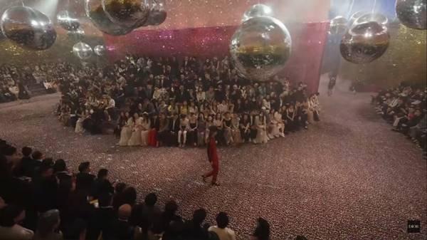 Desfile Pre-fall 2021 da Dior em Xangai