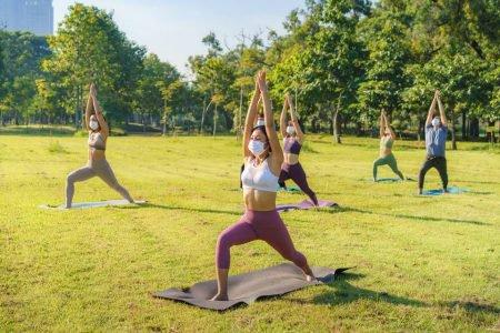 Aulão solidário de yoga