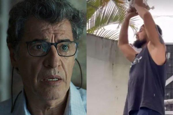 Paulo Betti e Rafael Cardoso