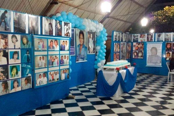 Festa de aniversário para Roberto Carlos