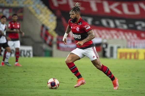 Gabigol no clássico Flamengo x Vasco no Maracanã