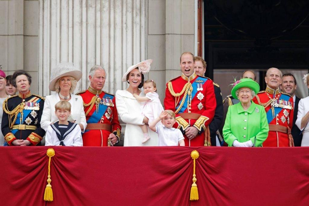 Príncipe Philip e rainha Elizabeth II