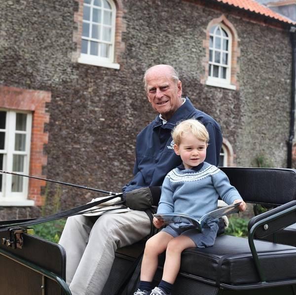 Príncipe Philip e príncipe George